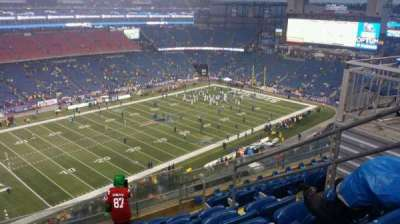 Gillette Stadium, section: 338, row: 7, seat: 5