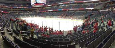 Verizon Center, section: 115, row: J, seat: 11