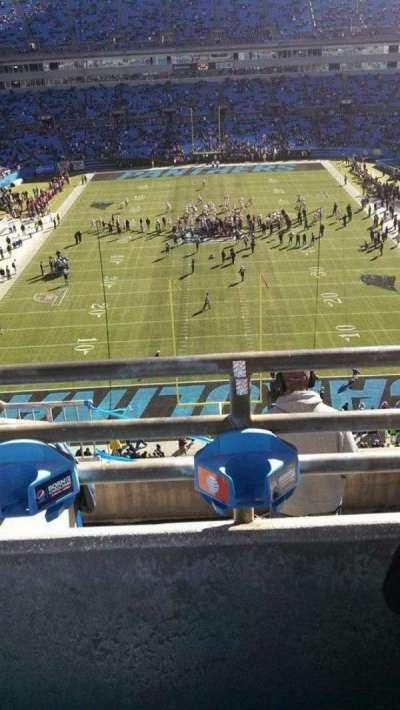 Bank of America Stadium, section: 501, row: 2, seat: 14