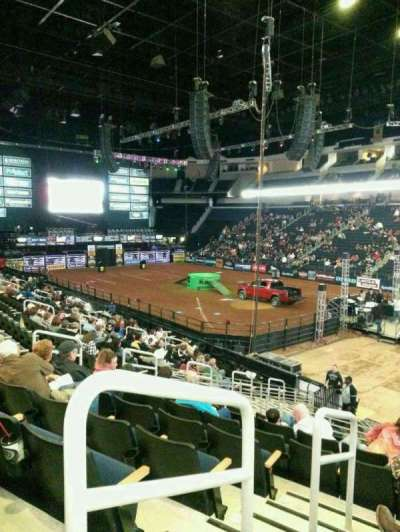 Infinite Energy Arena, section: 121, row: s, seat: 13