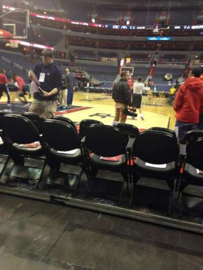 Verizon Center, section: Box West, row: CCC, seat: 30