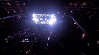 Verizon Center, section: 411, row: a, seat: 1