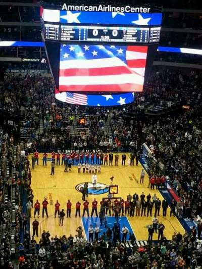 American Airlines Center, section: 302