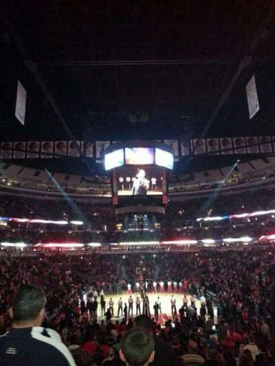 United Center, section: 117, row: 17, seat: 06