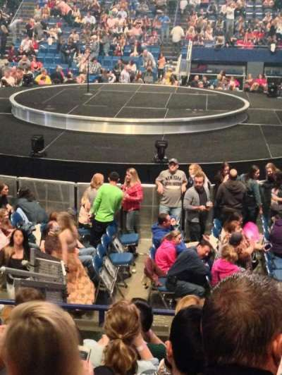 Rupp Arena, section: 13, row: F, seat: 11