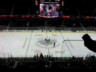 Quicken Loans Arena, section: 225, row: 2, seat: 14