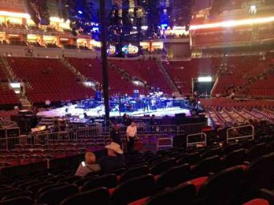 KFC Yum! Center, section: 117, row: L, seat: 12