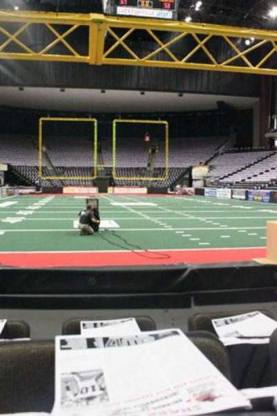 Jacksonville Veterans Memorial Arena, section: 109, row: C, seat: 5