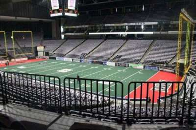 Jacksonville Veterans Memorial Arena, section: 111, row: W, seat: 12
