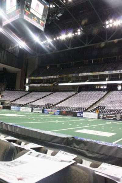 Jacksonville Veterans Memorial Arena, section: 112, row: C, seat: 6