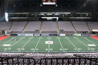 Jacksonville Veterans Memorial Arena, section: 114, row: W, seat: 6