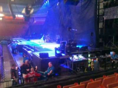 Mohegan Sun Arena, section: 14, row: J, seat: 14