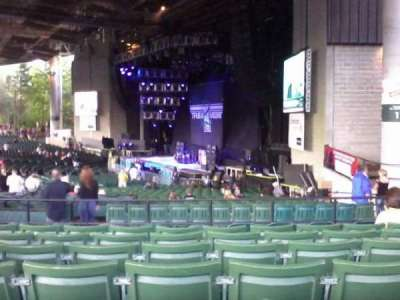 Xfinity Center, section: 4, row: J