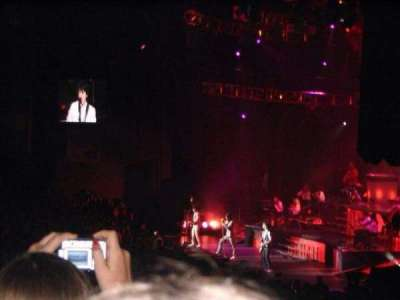 Xfinity Center, section: 4, row: M, seat: 2