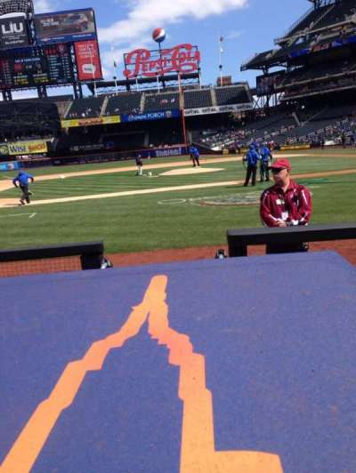 Citi Field, section: 121, row: 1