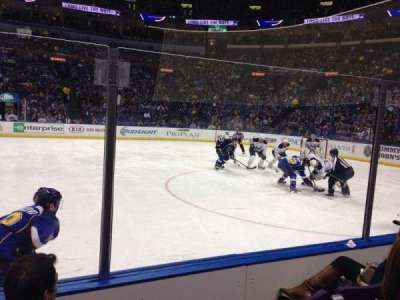 Scottrade Center, section: 115, row: D, seat: 6