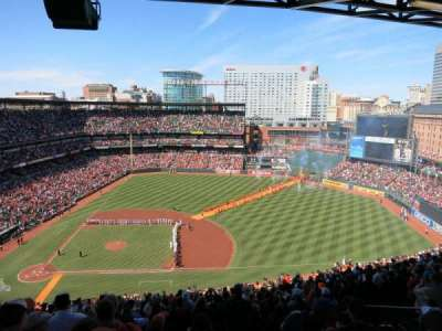 Oriole Park at Camden Yards section 322