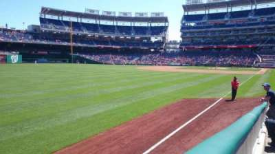 Nationals Park, section: 108, row: N, seat: 13