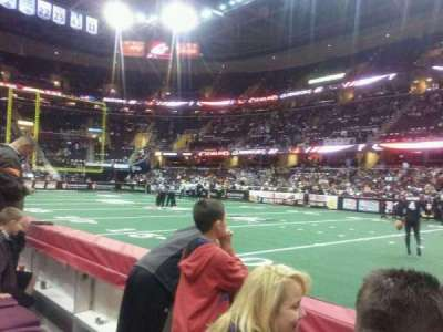 Quicken Loans Arena, section: 110, row: 2, seat: 14