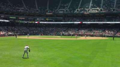 Chase Field, section: 102, row: 15, seat: 20
