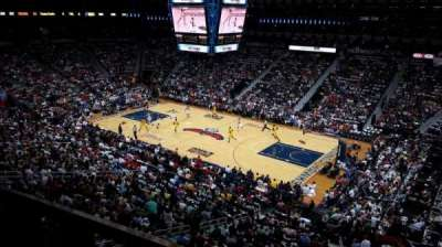 Philips Arena, section: 308, row: A, seat: 2