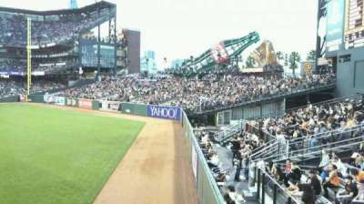 AT&T Park, section: 145, row: 1, seat: 2