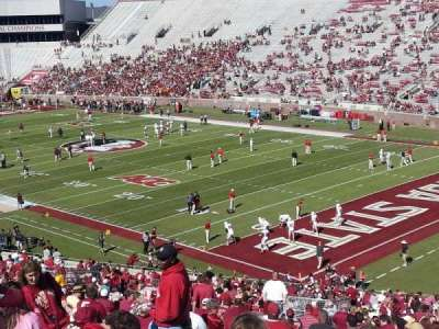 Bobby Bowden Field at Doak Campbell Stadium, section: 27, row: 59, seat: 20