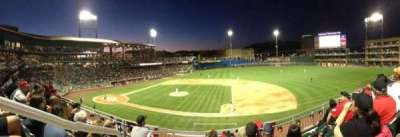 Southwest University Park, section: 205, row: D, seat: 12