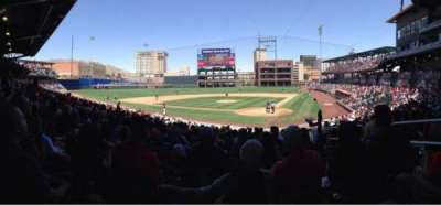 Southwest University Park, section: 114, row: U, seat: 4