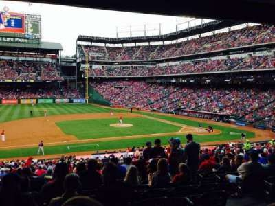 Globe Life Park in Arlington section 119
