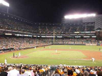 Oriole Park at Camden Yards, section: 22, row: 22, seat: 12 TO 8
