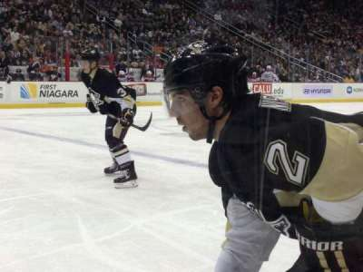 Consol Energy Center, section: 113, row: A, seat: 14