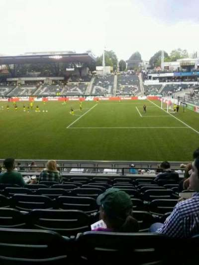 Providence Park, section: 121, row: I, seat: 13