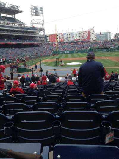 Nationals Park, section: 127, row: CC