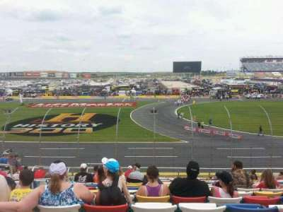 Charlotte Motor Speedway, section: GM, row: 20, seat: 34