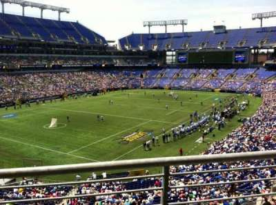 M&T Bank Stadium, section: 208, row: 2, seat: 2