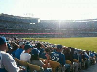 Dodger Stadium, section: 48FD, row: M, seat: 1