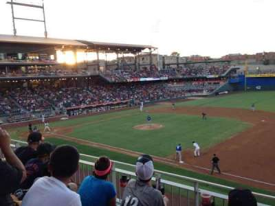 Southwest University Park, section: 204, row: C, seat: 10