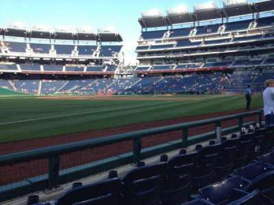 Nationals Park, section: 111, row: C, seat: 16