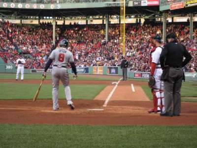 Fenway Park, section: Field Box 51, row: A, seat: 1