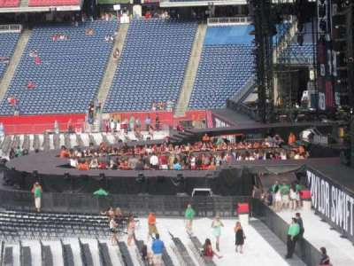 Gillette Stadium, section: 127, row: 34