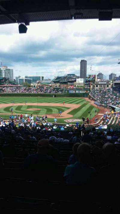 Wrigley Field, section: 218