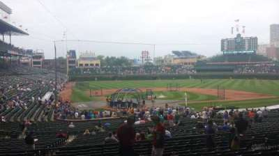 Wrigley Field section 220