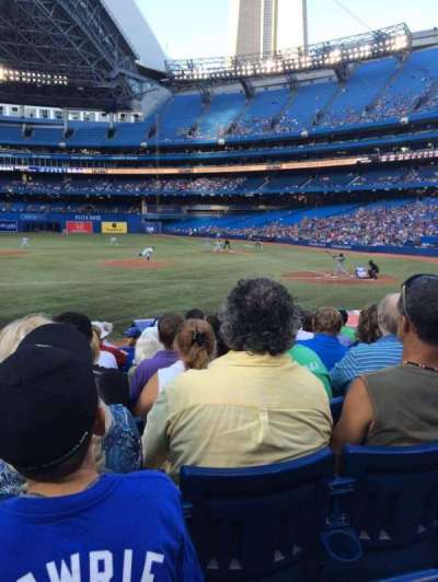 Rogers Centre, section: 126R, row: 17, seat: 2
