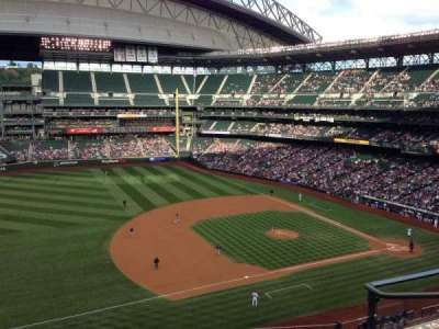 Safeco Field, section: 341, row: 4, seat: 5