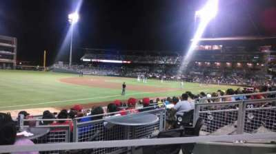 Southwest University Park, section: 122, row: M