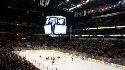 Bridgestone Arena, section: 119, row: P
