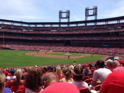 Busch Stadium, section: 165, row: 17, seat: 10