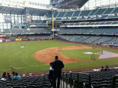 Miller Park , section: 227, row: 18, seat: 1