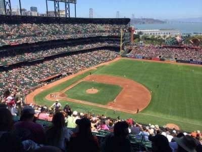 AT&T Park, section: 305, row: 16, seat: 12